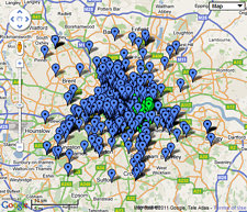 Blue plaques map