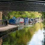 Little Venice from under the Warwick Avenue bridge
