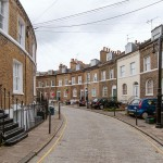 Keystone Crescent - a handsome terrace built in 1845