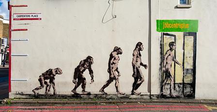 Job Centre Plus Graffiti by Loretto