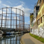 The Hackney gasometers