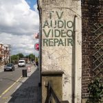 TV Audio Video Repair - Wandsworth Road (now overpainted and gone)