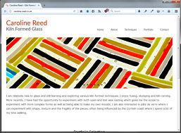 Caroline Reed website