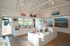 Porthilly Gallery Interior