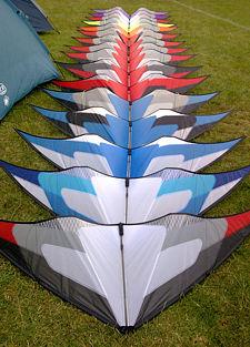 Benson Deep Space kites
