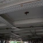 Under the railway bridge from Marylebone Station