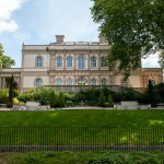 These Georgian mansions in Regent's Park are recent additions built to Nash's original designs
