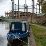 One of the King's Cross gasometers