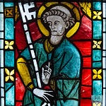 Stained Glass Panel - Saint Peter - c1280