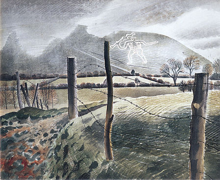 Revilious, Cerne Abbas Giant in white
