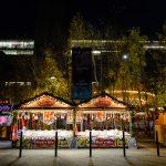 Christmas Stall outside the Tate