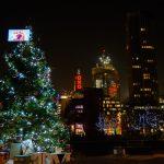 Oxo Tower and Christmas Lights