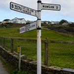 Old signpost