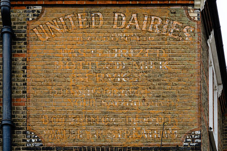 United Dairies - junction of Landor Road and Hubert Grove