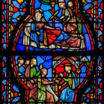 Detail from the Book of Kings Window