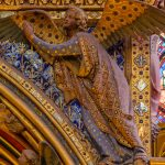 Detail of an Angel from the Great Shrine