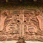 Watts Chapel - detail from exterior frieze
