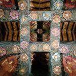 Watts Chapel - cherubs representing human souls