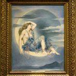 'Luna' by Evelyn De Morgan, 1885