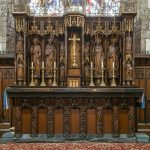 The Altar and Reredos, Crantock Church