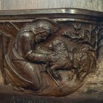 Misericord, Crantock Church