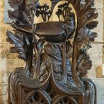 Bench End Finnial, Crantock Church
