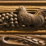 Rood Screen detail, Madron Church